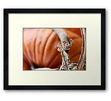 Pumpkin Love 1 Framed Print