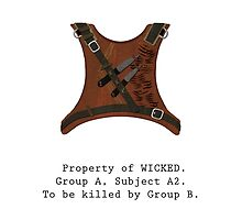Property of WICKED - Subject A2 by sapphirekisses
