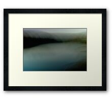 Dusky River Framed Print