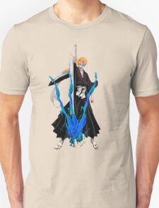 Ichigo Kurosaki with broken Hollow mask Unisex T-Shirt