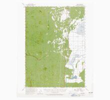 USGS Topo Map Oregon Lenz 282657 1957 62500 One Piece - Long Sleeve
