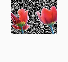 Tulip Drawing Meditation Unisex T-Shirt