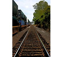 Travel the Railroad Photographic Print
