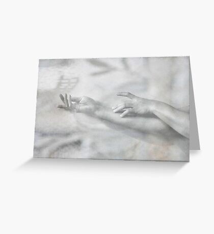 .touch. Greeting Card