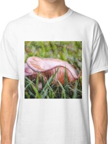 Abstract fungus in grass Classic T-Shirt