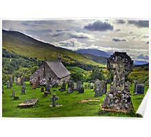 Cille Choirill, Lochaber, Scotland Poster