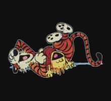 Calvin And Hobbes Silly One Piece - Long Sleeve