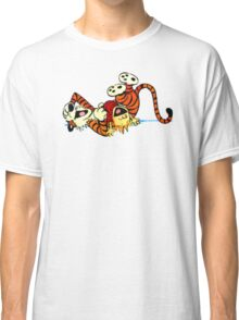 Calvin And Hobbes Silly Classic T-Shirt