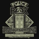 Police Box Storage Company! by Steven Thibaudeau