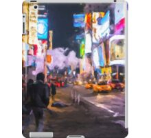 Only go out at night - Broadway iPad Case/Skin