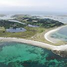 Aerial Islands of Scilly by Sarah Jane Bingham
