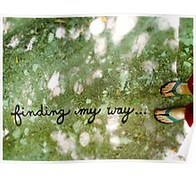 finding my way... Poster