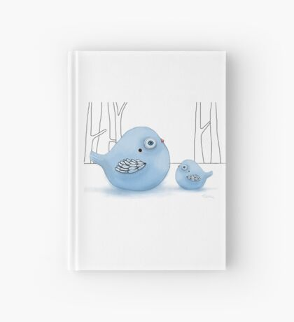 Blue Birds of Happiness Hardcover Journal