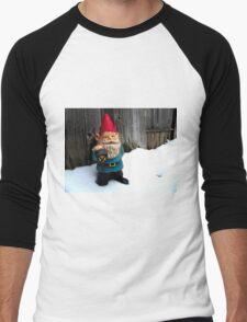Snowed in Gerome Men's Baseball ¾ T-Shirt