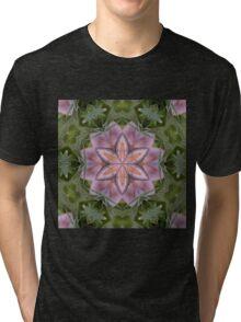 Kaleidoscope of a beautiful fungus Tri-blend T-Shirt