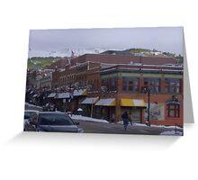 Bennett Street, Cripple Creek, CO Greeting Card
