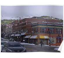 Bennett Street, Cripple Creek, CO Poster