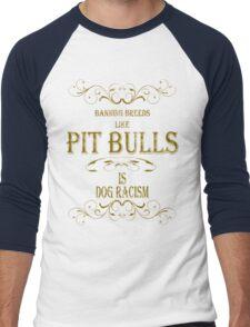 Pit Bulls Men's Baseball ¾ T-Shirt