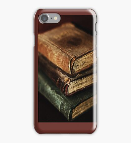 Stack Of Books iPhone iPhone Case/Skin