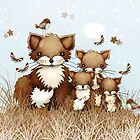 Little Foxes by © Karin Taylor