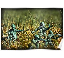 Toy Soldiers Attack! (Lomo image) Poster