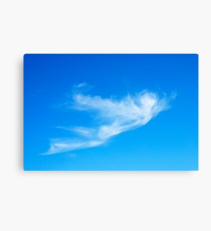 Icarus {cloud } Canvas Print