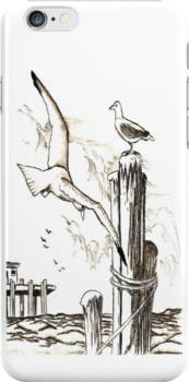Seagulls by tapiona