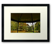 The End Of Summer Framed Print