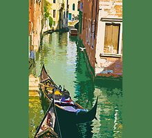 Rio della Guerra, Venice  [iPhone Case] by Sheila Laurens