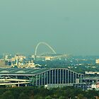 Terminal 5 and Wembley from Englefield Green by CliveSluter