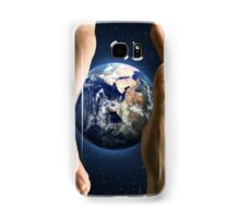 We Hold Earth's Future in Our Hands Samsung Galaxy Case/Skin