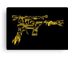 No Match for a Good Blaster - 26 Classic Sci-Fi Guns Canvas Print