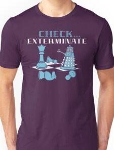 Check Exterminate Unisex T-Shirt