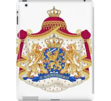 Colorful coat of arms - wapenschild iPad Case/Skin