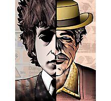 "Bob Dylan ""Man v. Myth"" Photographic Print"