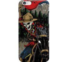 Skeleton Mountie iPhone case iPhone Case/Skin