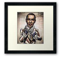 "Barack Obama, ""Stimulate This!"" Framed Print"