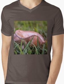 Fungus in the grass Mens V-Neck T-Shirt