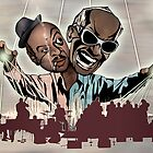 """Ray Charles & Count Basie, """"Reanimated Swagger"""" by Sam Kirk"""