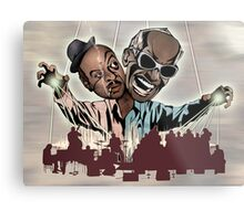 """Ray Charles & Count Basie, """"Reanimated Swagger"""" Metal Print"""