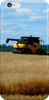 A Farmer's Dream, iPhone Case by MaeBelle