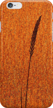 Iphone case grass shadow by Javimage