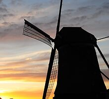 Windmill Iphone case by Javimage