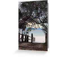 Green Beach Jervis Bay  Greeting Card