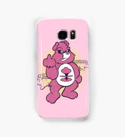Don't Care Bear (pink) Samsung Galaxy Case/Skin