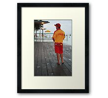 The 'life saver' Cairns Lagoon.  Framed Print