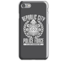 Avatar Republic City Police Force iPhone Case/Skin