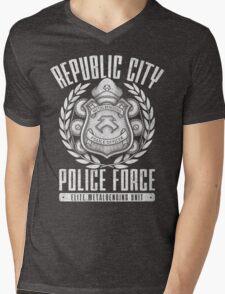 Avatar Republic City Police Force Mens V-Neck T-Shirt