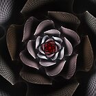 Black Rose iPhone Case by Golubaja