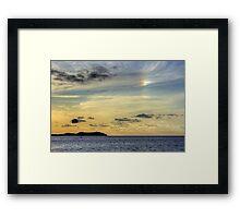 Rainbow Cloud Framed Print